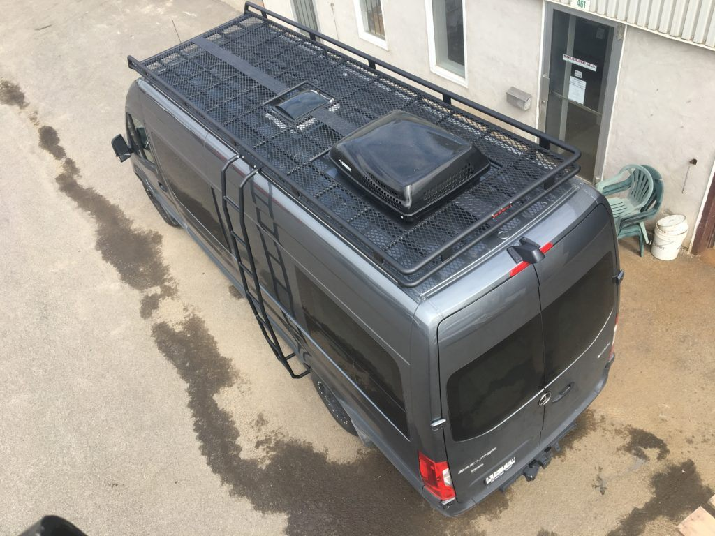 Roof rack mercedes sprinter promaster transit quebec
